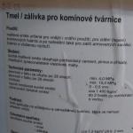 Tmel_zálivka pro Schiedel